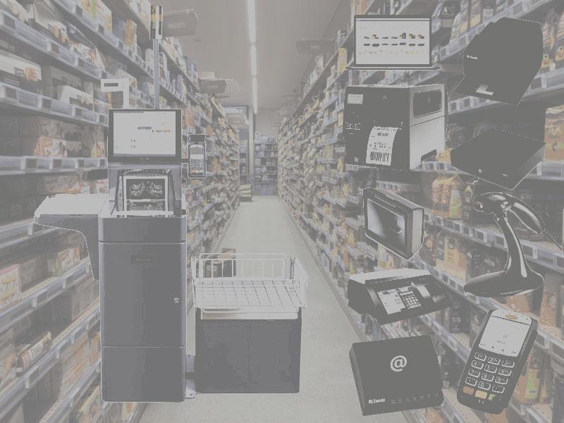 Automação comercial para supermercados
